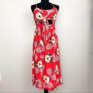Flying Tomato Floral Midi Dress